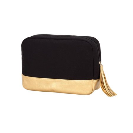 gold black cosmetic case - Google Search