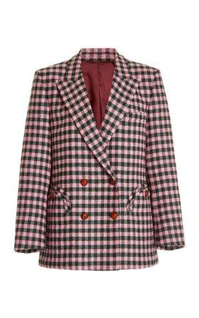 Teaser Green Everynight Wool Blazer By Blazé Milano   Moda Operandi