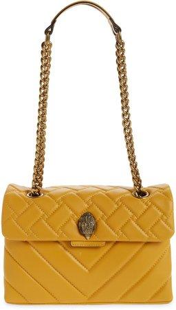 London Kensington X Quilted Leather Shoulder Bag