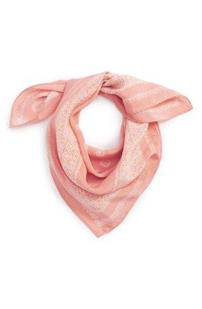 peach bandana