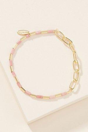 Serena Mixed Chain Tennis Bracelet | Anthropologie