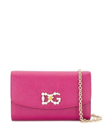 Dolce & Gabbana Clutch Con Cristalli - Farfetch