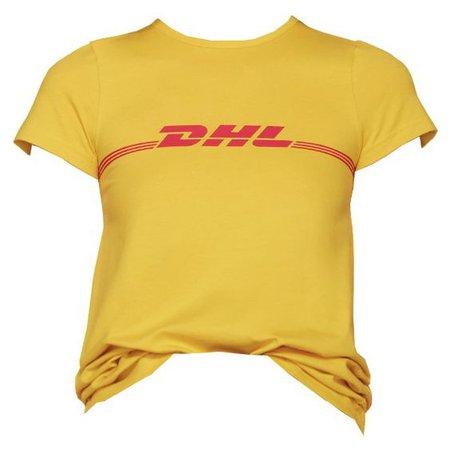 Yellow DHL T-Shirt