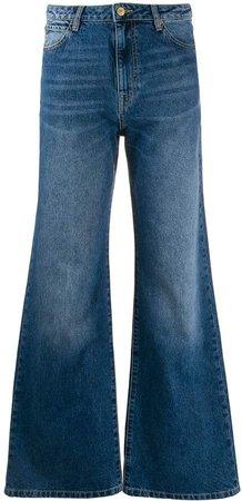 Essentiel Antwerp Thunderbird mid-rise wide-leg jeans