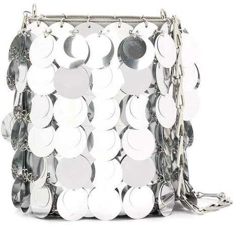 sparkle bucket bag