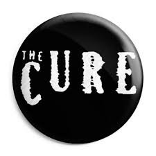 The Cure button badge