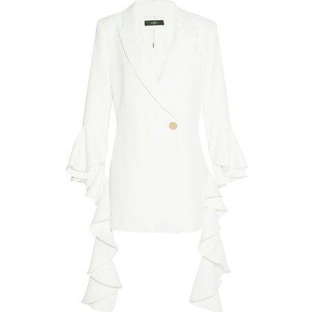 Ellery Ruffled crepe blazer (115,005 INR)