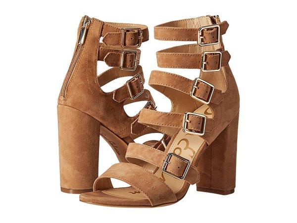 Sam Edelman - Yasmina (Golden Caramel) Women's Dress Sandals