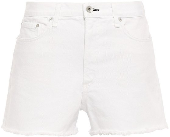 Justine Frayed Denim Shorts