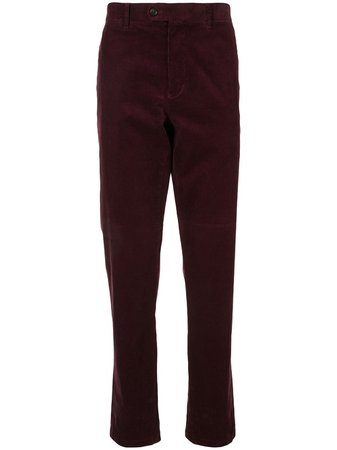 D'urban corduroy straight-leg trousers - FARFETCH