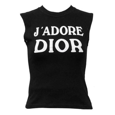 1990's Iconic Christian Dior 'J'ADORE DIOR' Muscle T