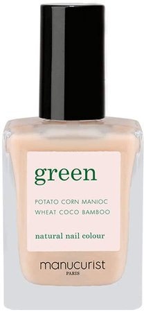 Green Nail Lacquer - Nude