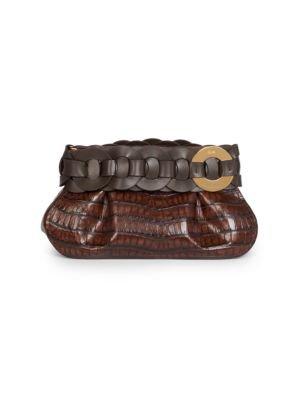 Boyy - Buckle Leather Wallet-On-Chain - saks.com