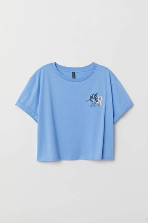Short T-shirt - Blue