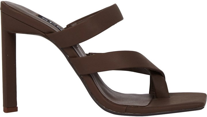 Sylvie Leather Slide Sandals