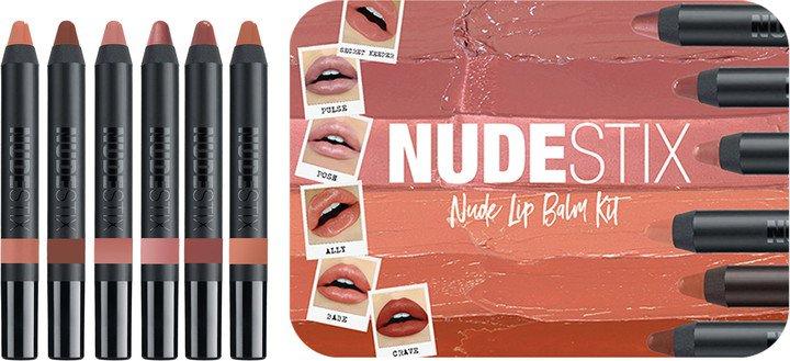 Full Size Nude Lip Balm Set