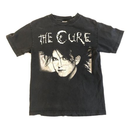 Vintage Late 90s The Cure Band Shirt (Robert Smith Tee. mark - Depop