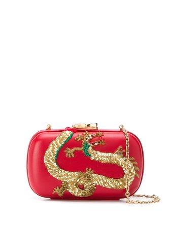 Corto Moltedo Susan C Star clutch red B2742805 - Farfetch