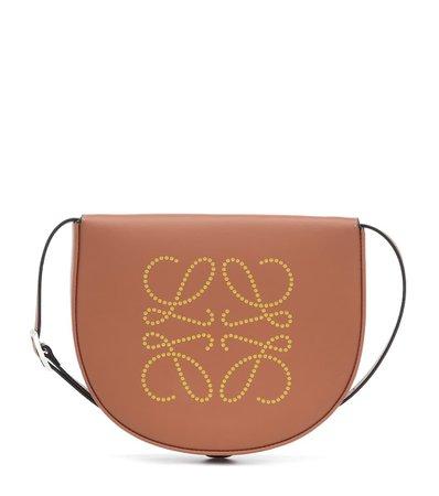 Heel Anagram Leather Crossbody Bag - Loewe   Mytheresa
