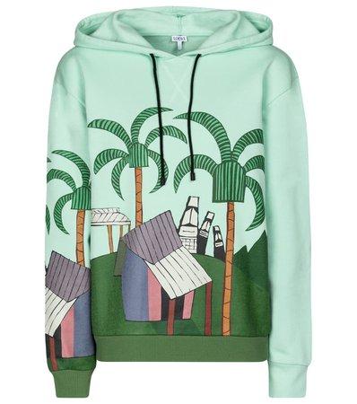 Loewe - x Ken Price printed cotton hoodie | Mytheresa