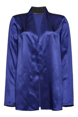 Haider Ackermann - Silk Blouse - blue