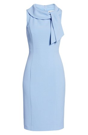 Harper Rose Fold Collar Sheath | Nordstrom