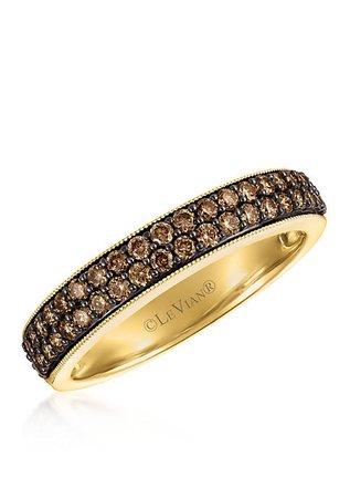 Le Vian® Chocolate Diamonds Ring in 14k Honey Gold