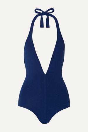 Eres | Les Essentiels Cachette halterneck swimsuit | NET-A-PORTER.COM
