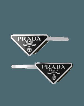 Metal Hair Clip | Prada