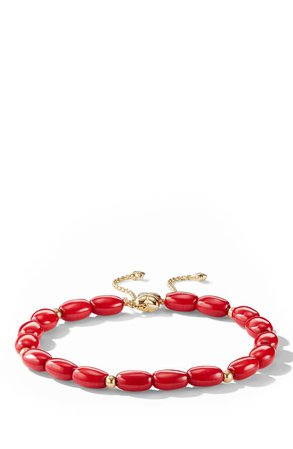 David Yurman Spiritual Bead Bracelet with 18k Gold | Nordstrom