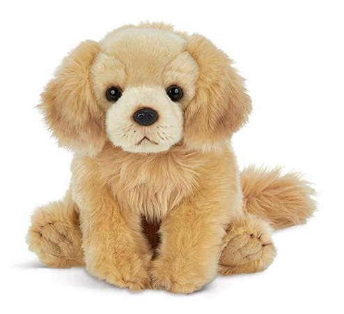 "Bearington Goldie Golden Retriever Plush Stuffed Animal Puppy Dog 13"", Animals & Figures - Amazon Canada"