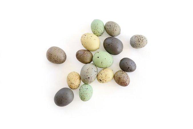Speckled Eggs . natural eggs . foam eggs . faux eggs . easter   Etsy