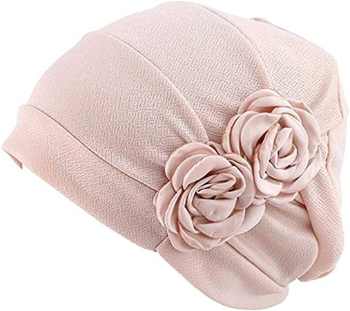 WETOO Women Chemo Hat Beanie Flower Headscarf Turban Headwear for Cancer at Amazon Women's Clothing store
