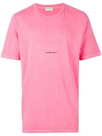 Saint Laurent T-shirt Con Stampa - Farfetch