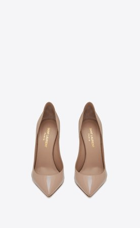 nude ysl pumps