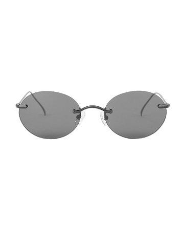 Nicoreta Rimless Sunglasses | INTERMIX®