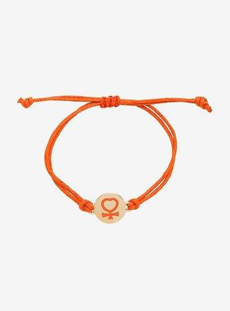 Sailor Moon Sailor Venus Cord Bracelet