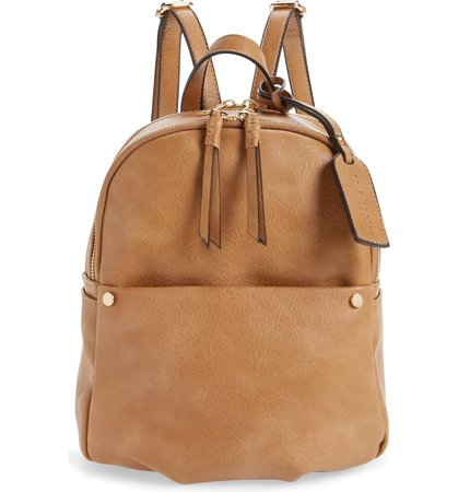 Sole Society Siena Faux Leather Backpack | Nordstrom