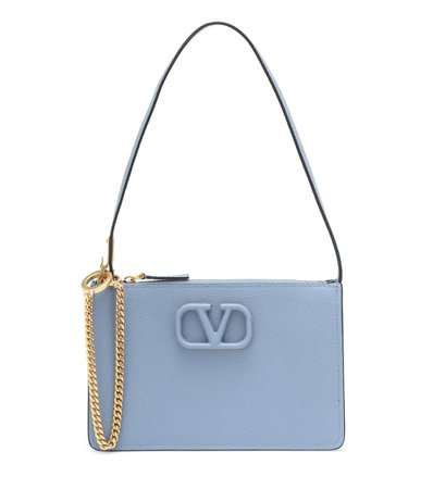 Valentino Garavani Vsling Small Leather Shoulder Bag - Valentino | Mytheresa