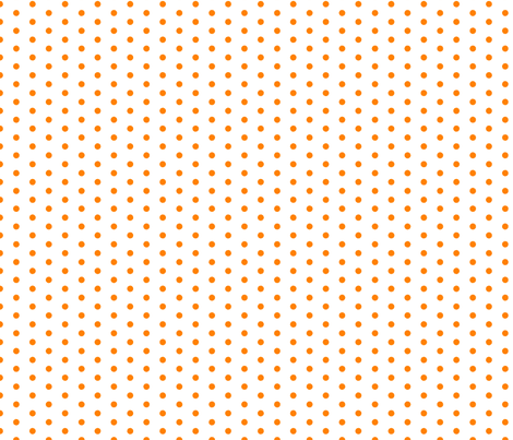 small orange polka dot filler