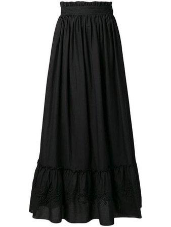 Wandering boho maxi skirt
