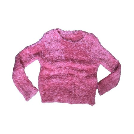 90s style Mohair / Fluffy Pink Sweater Reminds me... - Depop