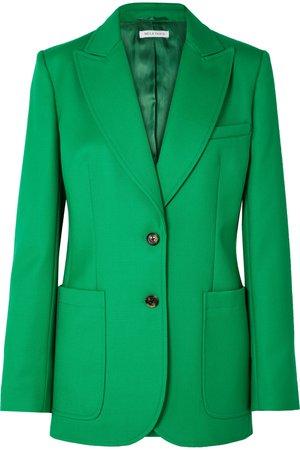 Bella Freud   Saint James wool-twill blazer   NET-A-PORTER.COM