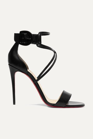Christian Louboutin | Choca 100 leather sandals | NET-A-PORTER.COM