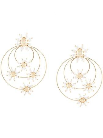 Rosantica Daisy faux-pearl Earrings - Farfetch