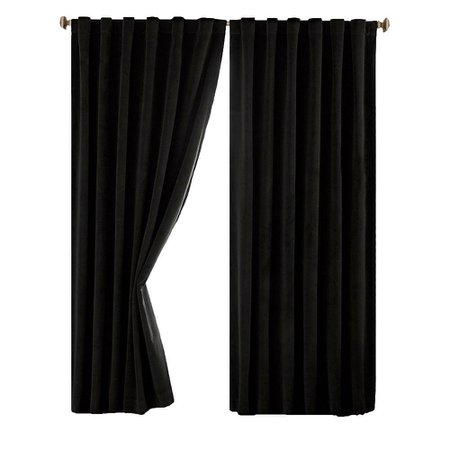 black curtains - Google Search