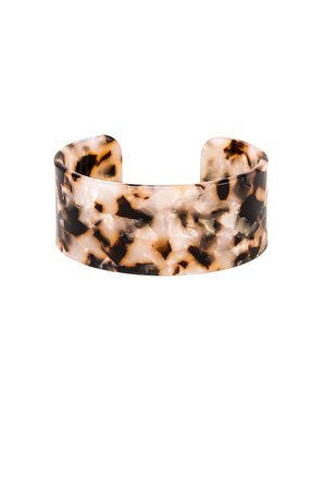 Emma Large Lucite Cuff Bracelet