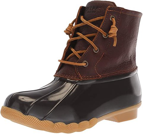 Amazon.com | Sperry Women's Saltwater Boots | Ankle & Bootie
