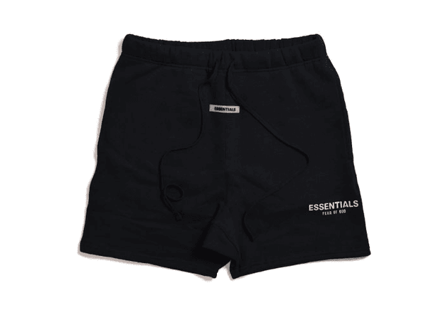 FEAR OF GOD ESSENTIALS Sweat Shorts Black - FW19
