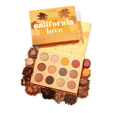 California Love Warm Golden Bronze Eyeshadow Palette   ColourPop